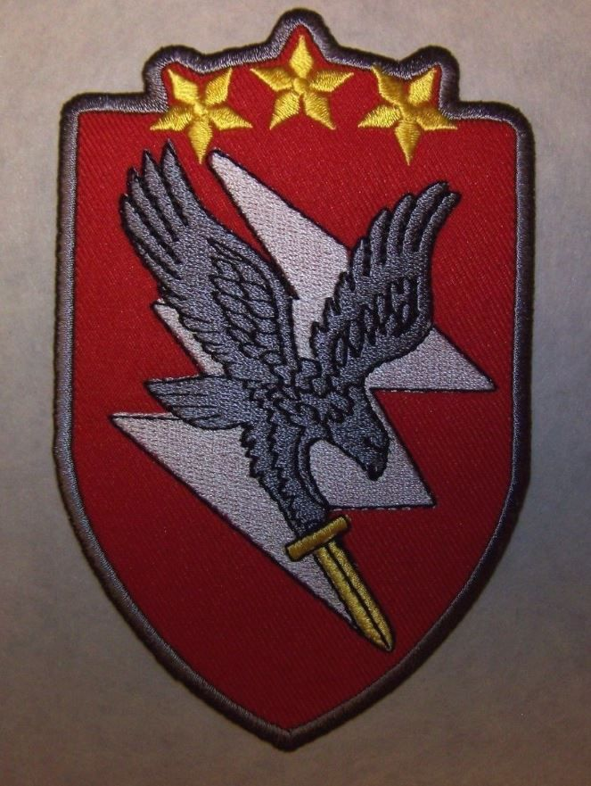 "Latvia Latvian National Guard Special Forces Unit ""HAWK"" Patch (Red)"