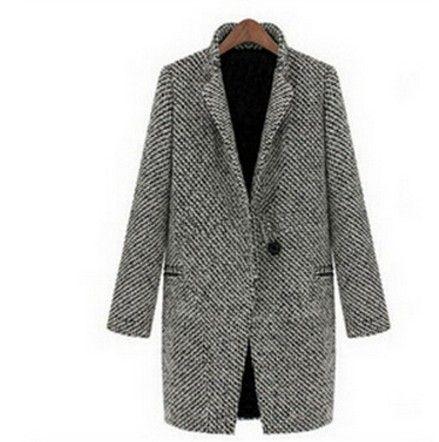 Elegantní zimní kabát pro ženy z bavlny – Velikost L Na tento produkt se vztahuje nejen zajímavá sleva, ale také poštovné zdarma! Využij této výhodné nabídky a ušetři na poštovném, stejně jako to udělalo již …