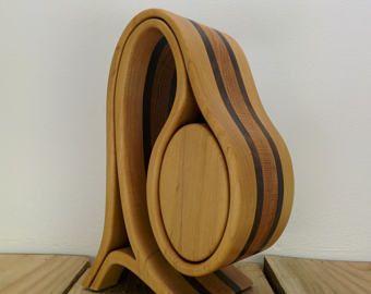 CAJA de JOYERÍA hecha a MANO - Sierra de cinta caja - decoración para el hogar - arte madera - caja de recuerdo - original diseño de Simon Roy