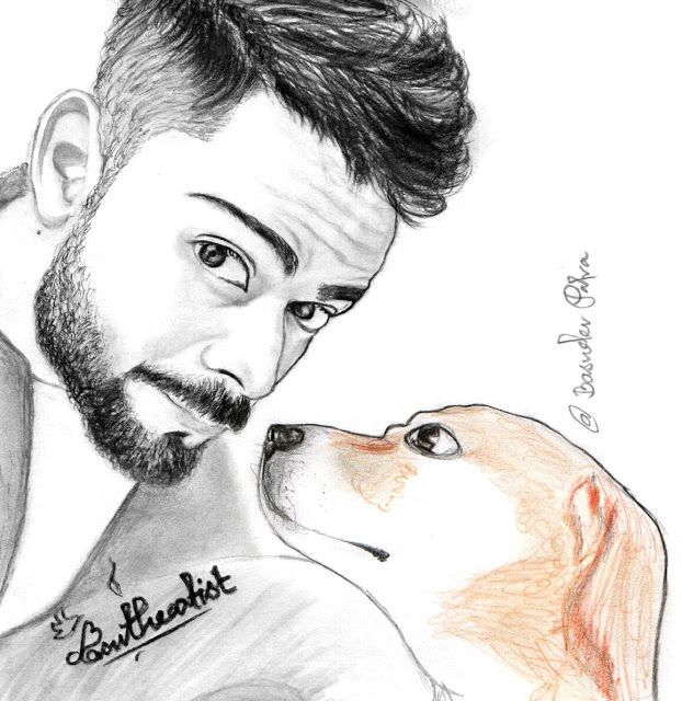 Virat Kohli Pencil Sketch Sketches Pencil Sketch