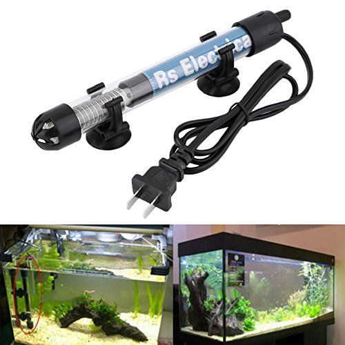 100w Submersible Heater Heating Rod For Aquarium Glass Fish Tank Temperature Adjustment...
