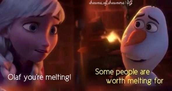 Some people are worth melting for ♥️ | Disney ...