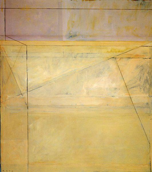 Richard Diebenkorn (US 1922-1993)Ocean Park series created from 1967 to 1988