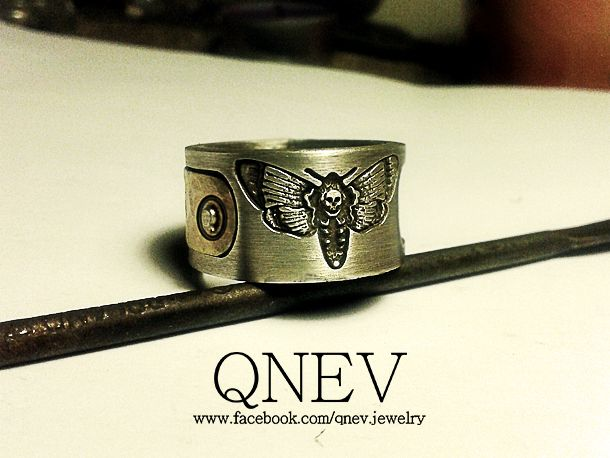 Silver/brass rings - Twilight by QneV-jewelry