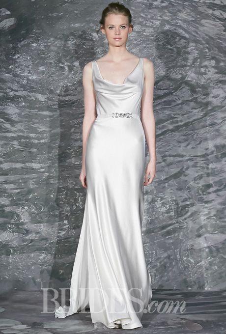 Jenny Lee Wedding Dresses Spring 2015 Bridal Runway Shows Brides.com | Wedding Dresses Style | Brides.com
