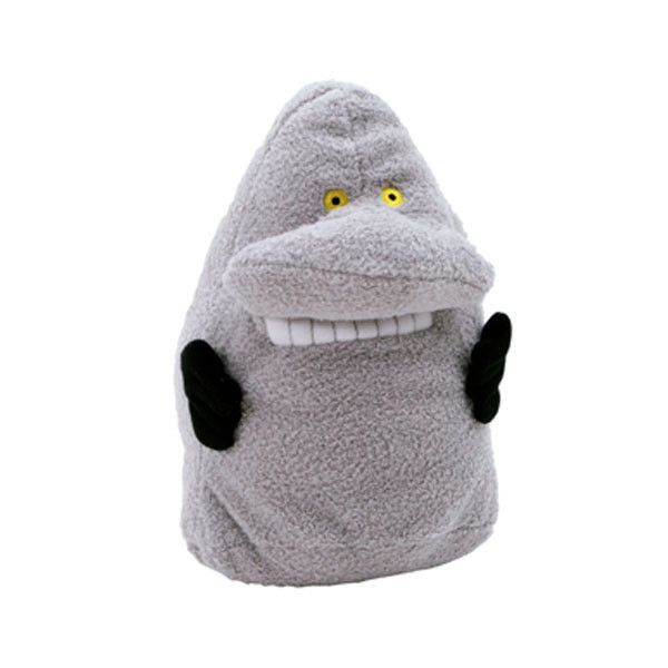 The Groke plush toy - softer, warmer and kinder than she looks.  Height 24 cm.