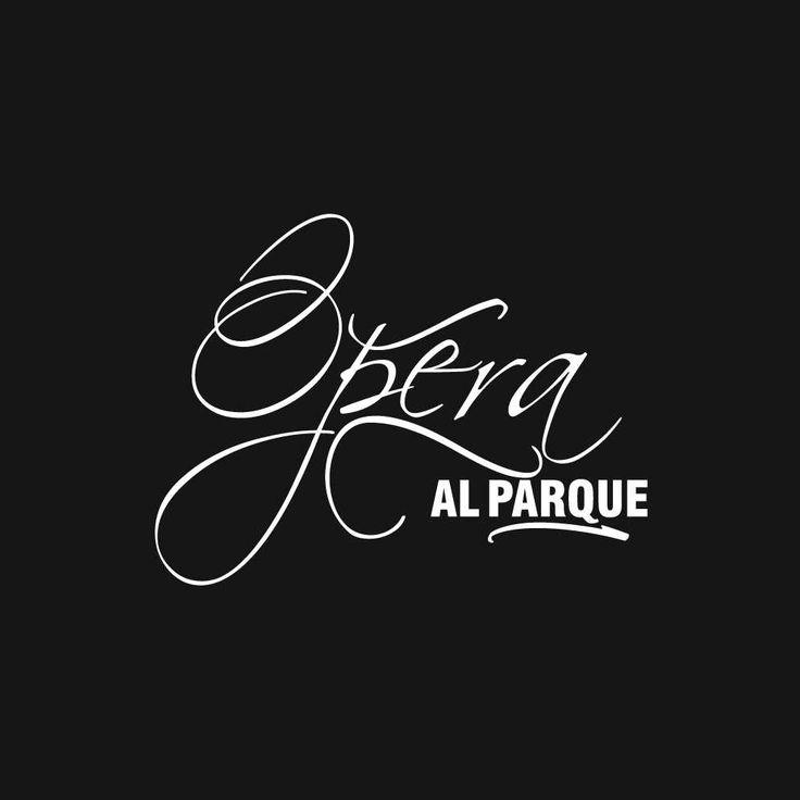 Logotipo Ópera al Parque (2009)