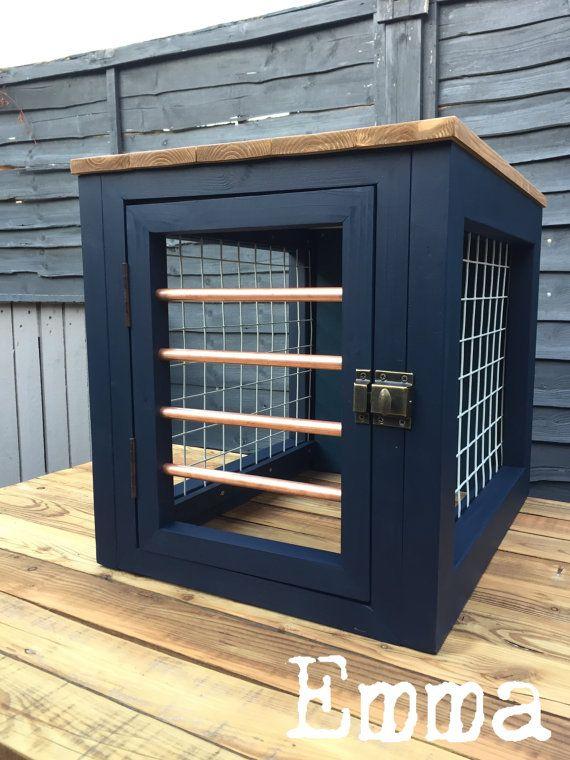 Handmade Dog Crates by K9customcratecompany on Etsy