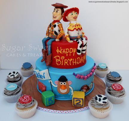 Inspiration for a Toystory & Buzz Lightyear cake and cupcakes. Novelty Cakes Dubai. Sweet Secrets. www.sweetsecretsdubai.com