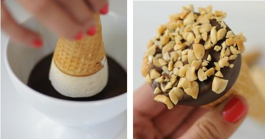 Make Your Own Ice Cream Drumsticks — Cupcakes and Cashmere