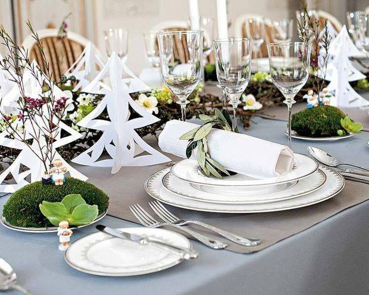 Decoration Table Pour Invites #5: Quand Noël Su0027invite à Table