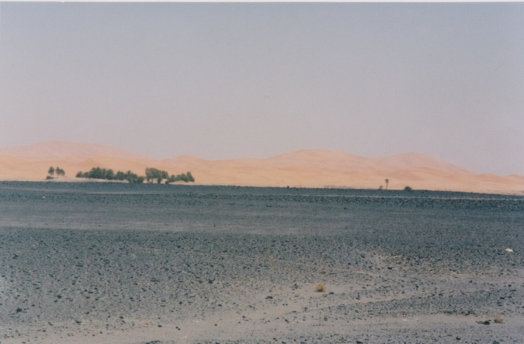 Erfoud Morocco moonscape