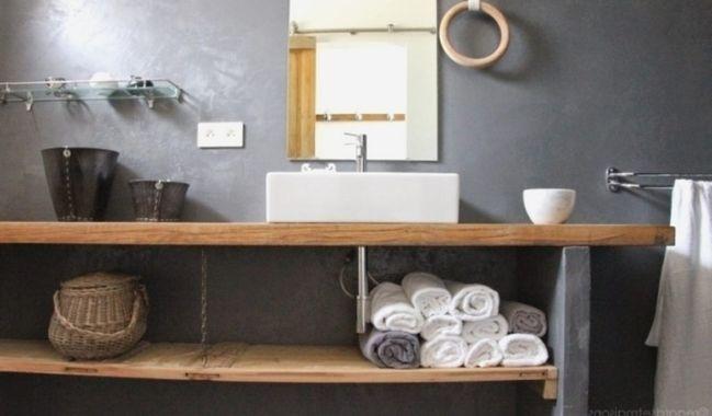 Meuble Salle De Bain Fait Maison Plan De Maison Avec Images