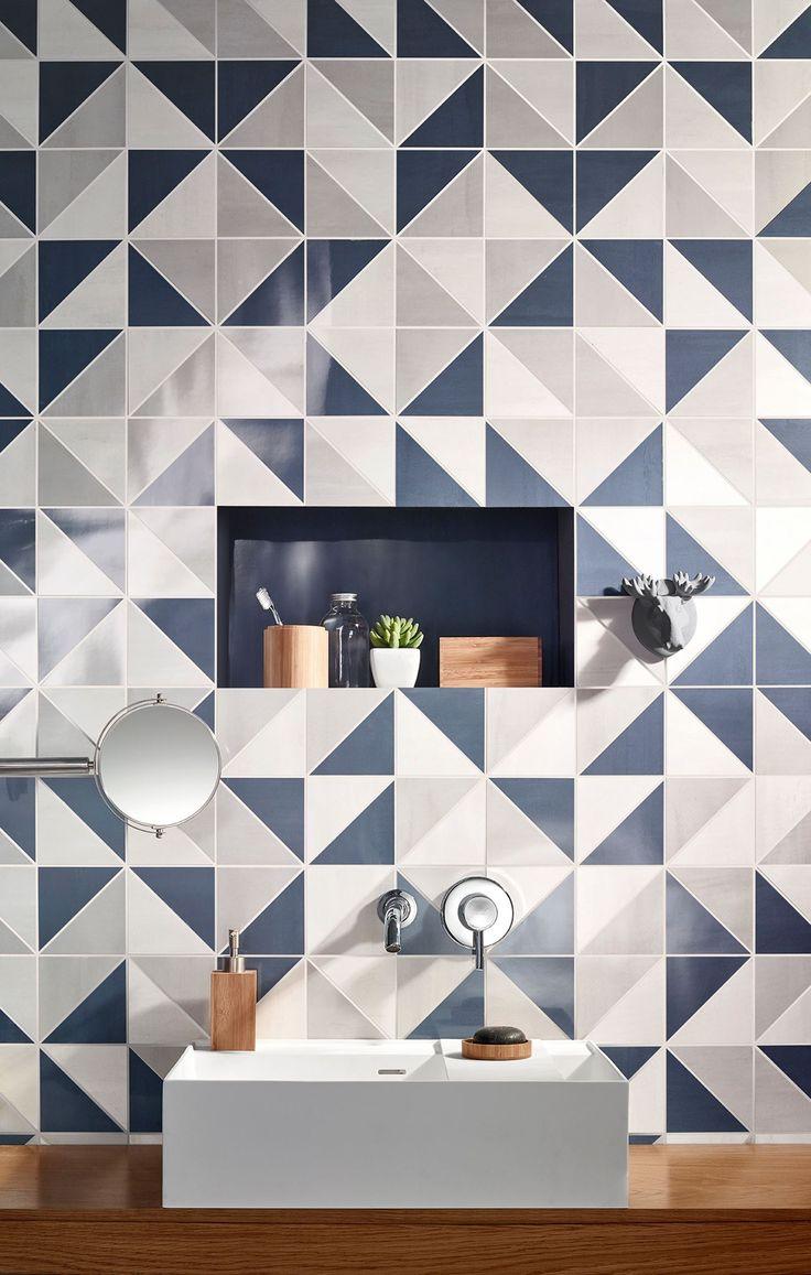 Las 25 mejores ideas sobre azulejos azules en pinterest y for Azulejo sobre azulejo