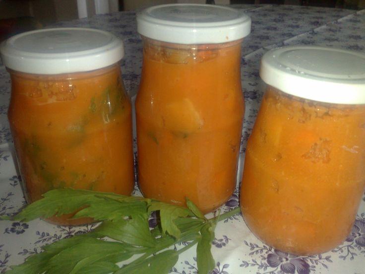 Zeleninová polievka za 5 minút
