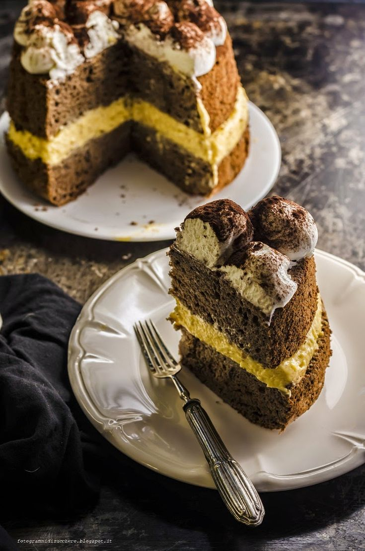 Angel cake tiramisù