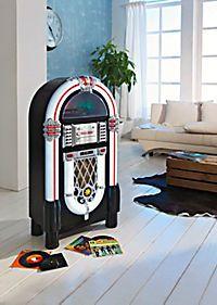 supercoole Jukebox DAB+ mit Plattenspieler