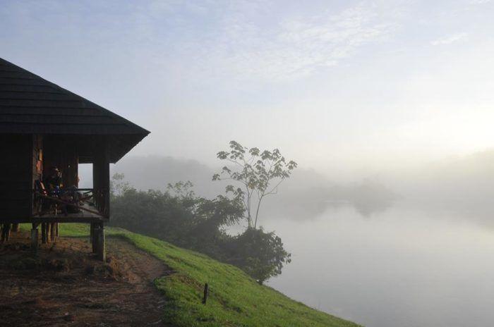Palumeu jungle lodge, het hart van het Amazone regenwoud