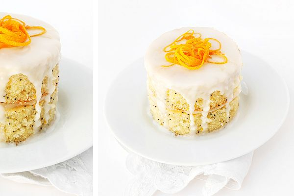 Lemon Lime Poppy Seed Cake With Cream Cheese Icing