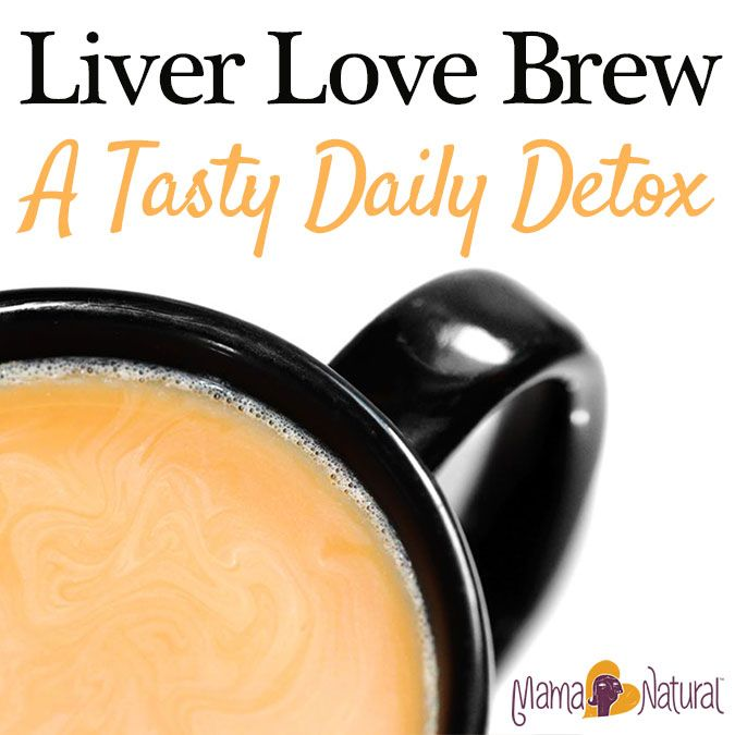 Liver Love Brew, a Tasty Detox Drink by Mama Natural
