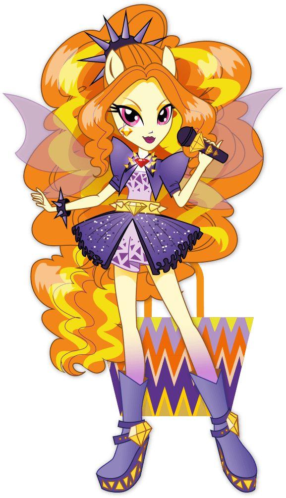 Adagio Dazzle from My Little Pony Equestria Girls: Rainbow Rocks