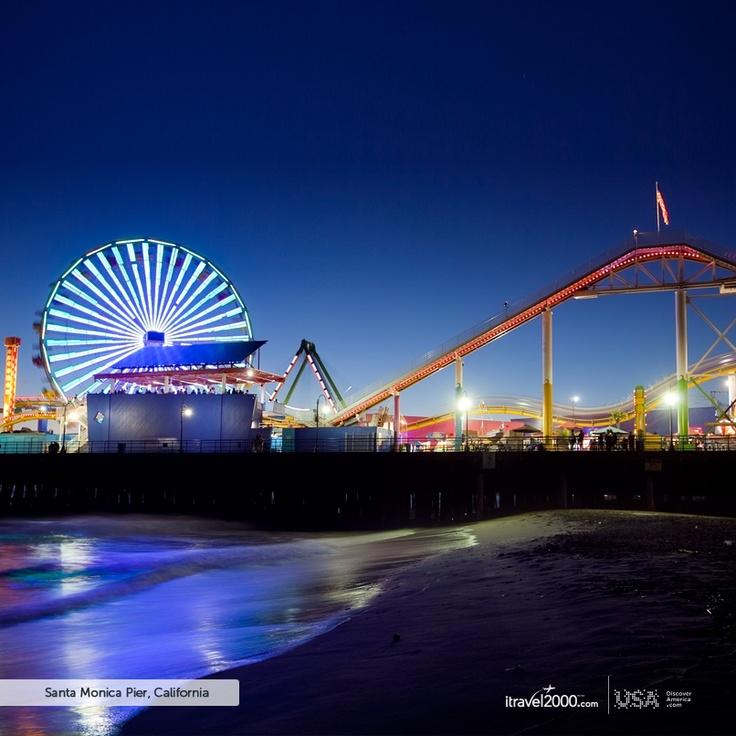 Santa Monica, California.  #itravel2000 and #DiscoverAmerica