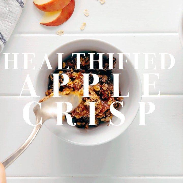 Minimalist Baker On Instagram New Healthified Apple Crisp 1 Bowl Gluten Free Lower Sugar Made With Oa Apple Crisp Healthy Dessert Minimalist Baker
