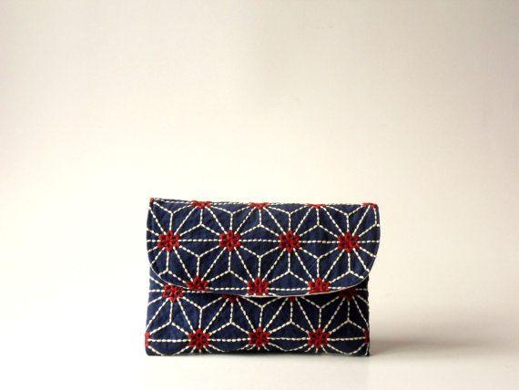 gorgeous sashiko embroidery!