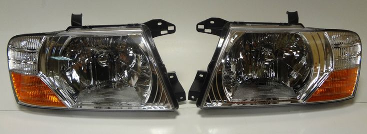 awesome Great Mitsubishi Pajero MK III -06 front head lamps lights for right-hand traffic set 2017/2018 Check more at http://24carshop.com/product/great-mitsubishi-pajero-mk-iii-06-front-head-lamps-lights-for-right-hand-traffic-set-20172018/