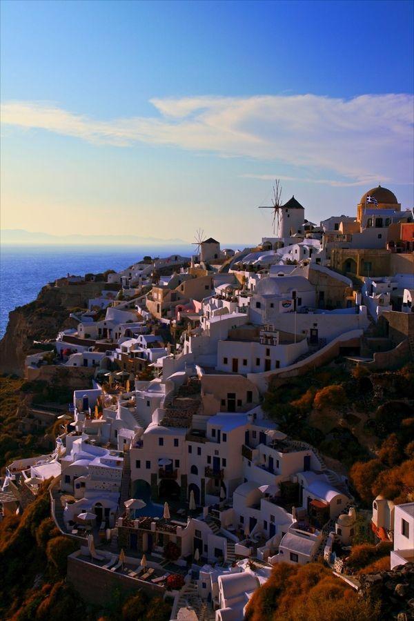 Oia Caldera, Santorini, Greece… oh Greece. I promise I will see how beautiful