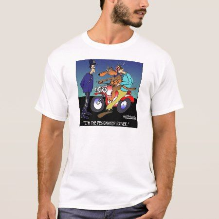 Dog As Designated Driver T-Shirt - tap, personalize, buy right now!