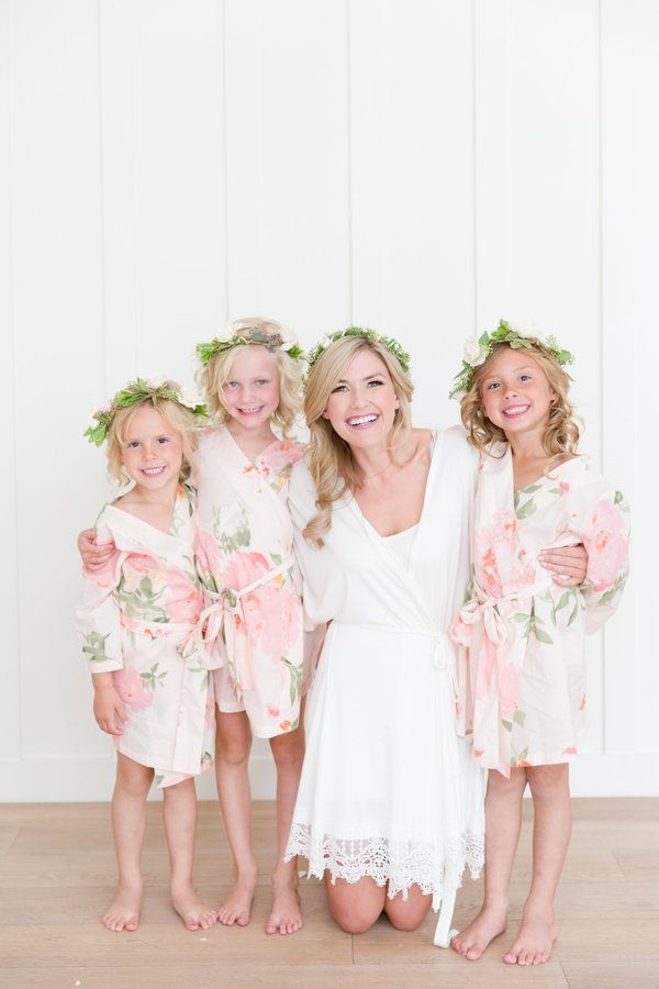 This bride and babes. Captured beautifully with her bride tribe wearing Oceane, Persimmon. Shop at www.PlumPretty Sugar.com.
