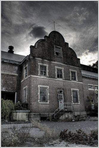 Abandoned Asylum. It's almost Halloween and I'm feeling morbid.