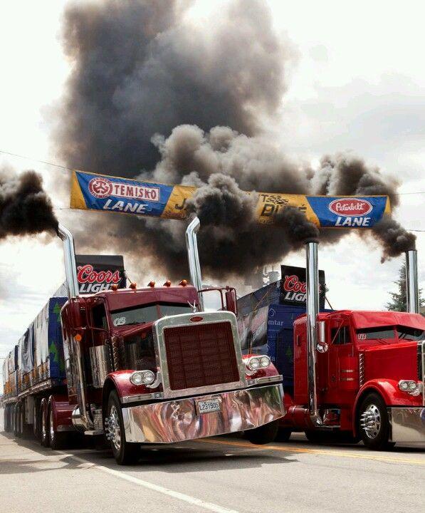 Wheelie!!  :-) ... that's some serious trucking!!