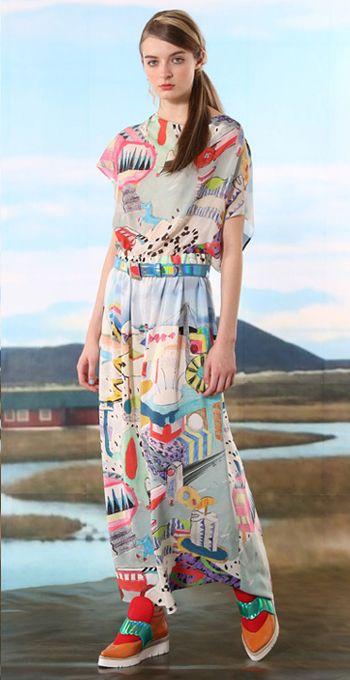 Tsumori Chisato 2016 Pre Fall Autumn Womens Lookbook