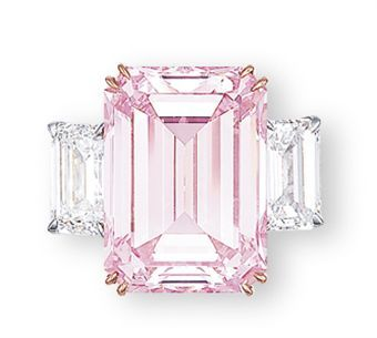 23,000,000 dollars for 14.23 carats of the perfect pink color diamond.