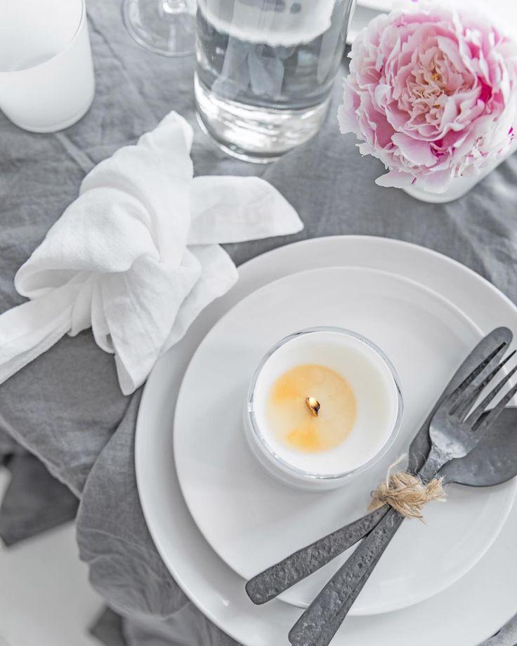 #messagecandles #dinner #event #tabledecoration #white #candles #instashop
