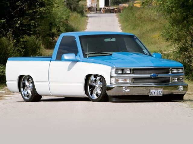 low chevy trucks | Sport Truck - Ray Rodriguez - Chevrolet Truck (1988) - picture 1