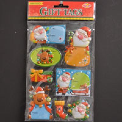 GIFTTAGS POPUP EMBOSSED