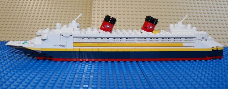 LEGO Ideas - Mini Disney Wonder, Dream, Fantasy or Magic Cruise Ships!