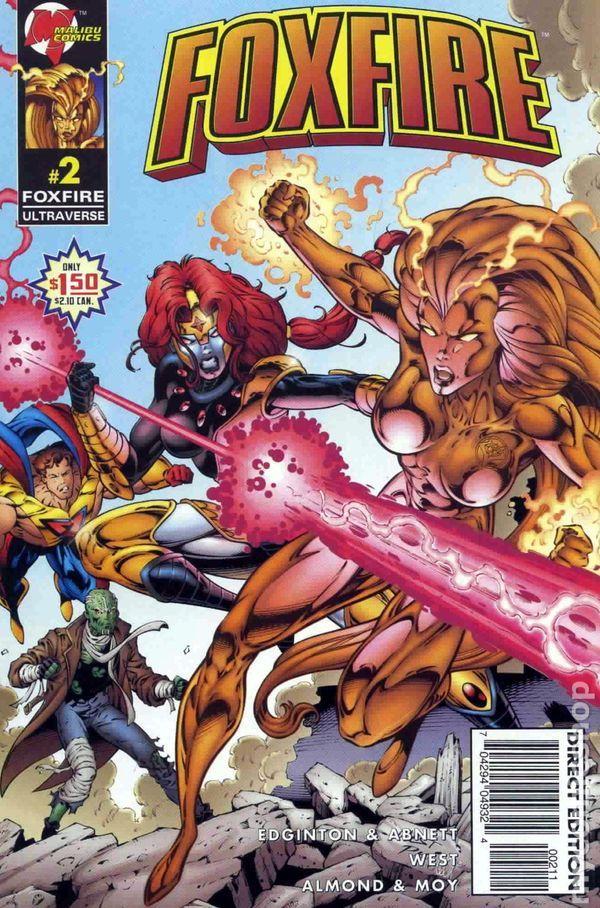 malibu comics | Foxfire (1996 Malibu) comic books