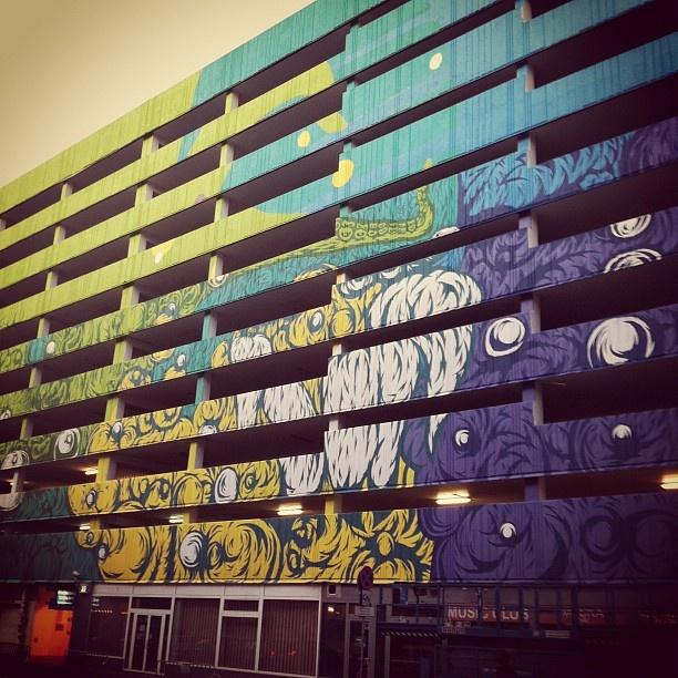 Swanski, Warsaw, PL #swanski #mural #streetart #turbokolor