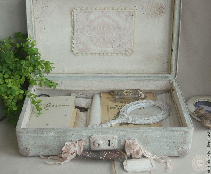 Купить Чемодан Месяц в деревне - разноцветный, цветочный, чемодан, хранение…