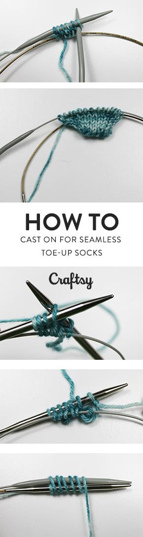 There never was a comfier pair of hand-knit socks. @craftsy