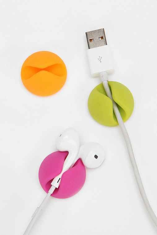 CableDrop Multipurpose Cable Clip - Set Of 6 - Urban Outfitters