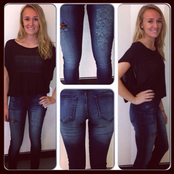 Sheer black crop top: $14.99  White bandeau: $4.99  Grinded skinny jeans (perf for boots!) $39.99