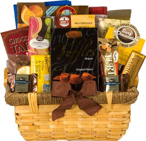 Chocolate Lover Basket   Chocolate Gift Baskets Delivered   Chocolate Gifts