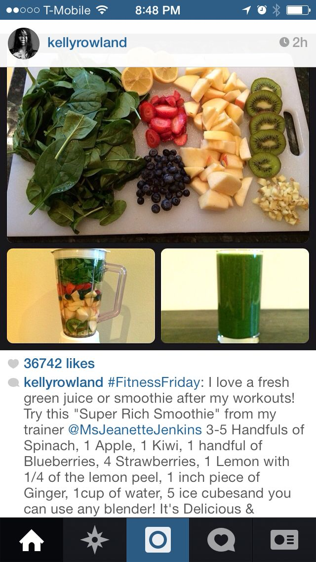 After workout smoothie | Health | Pinterest