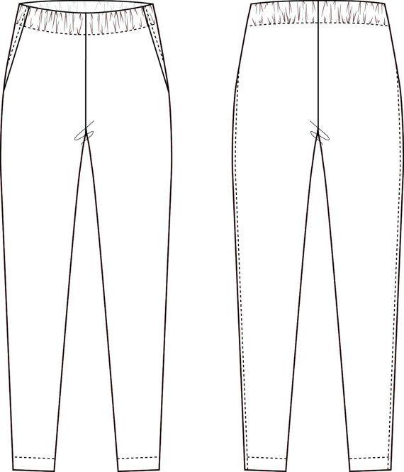 Elastic-Waist Pants by TeachMeFashion  #teachmefashion