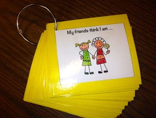 Sentence Completion Cards can address a number of areas including feelings, conflict, and social situations.